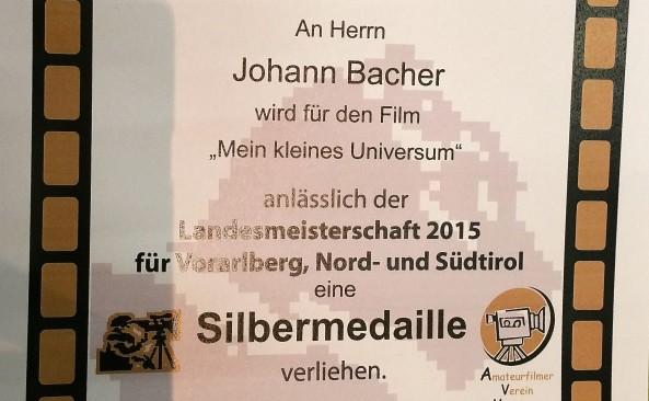 Landesmeisterschaft 2015 der Filmautoren von Vorarlberg, Tirol- und Südtirol in Latsch